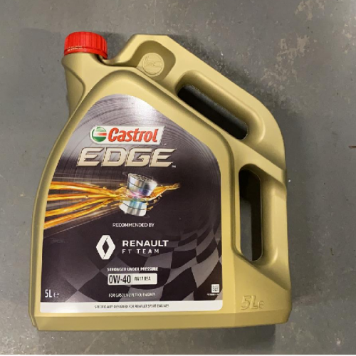 Engine Oil Castrol Edge 0w40