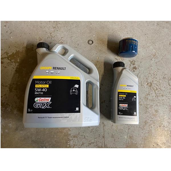 Renault Megane MK3 RS Engine Oil With Filter