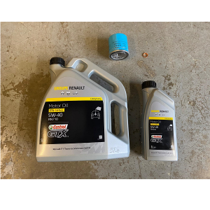 Renault Clio 200 220 Engine Oil With Filter