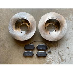 Renault Master Rear Brake Discs & Pads MK3